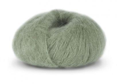 Tynn Kidsilk Erle - Jadegrønn (4009)