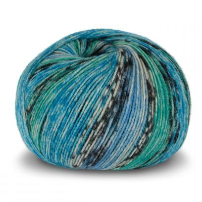 Tynn SW Wool Forte - Denim/Grønn (101)