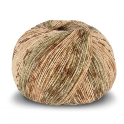 Tynn SW Wool Forte - Gul/Rust (103)
