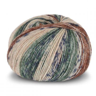 Tynn SW Wool Forte - Beige/Rød (104)