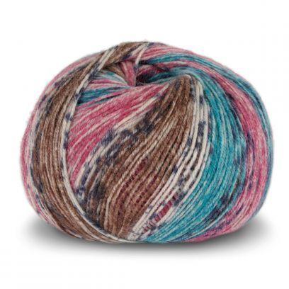 Tynn SW Wool Forte - Denim/Pink (105)