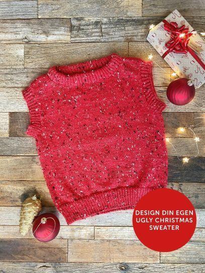 DSA 104-06 Ugly Christmas Vest barn