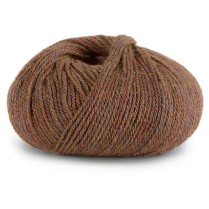 Alpakka Forte - Brun melert (725)