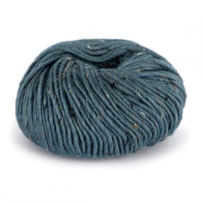 Alpakka Tweed Classic - Mørk gråblå (129)