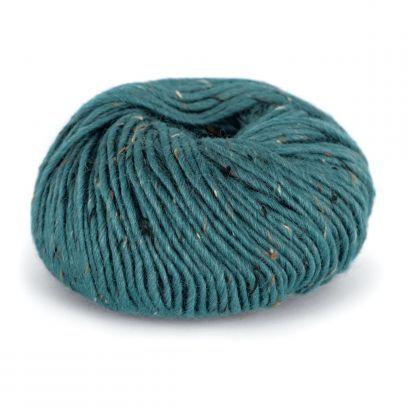 Alpakka Tweed - Petrol (114)