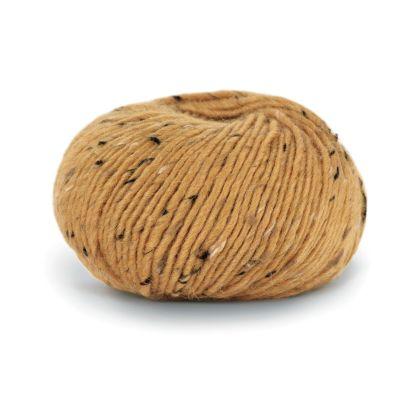 Alpakka Tweed - Gul (118)