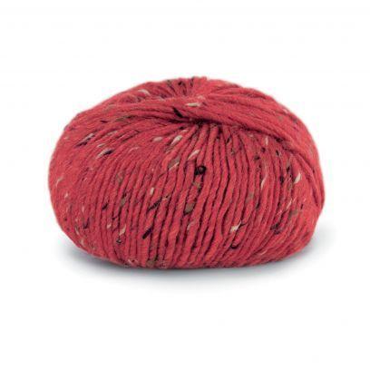 Alpakka Tweed - Rød (120)