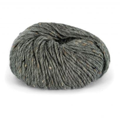Alpakka Tweed - Mørk grå (102)