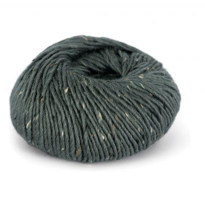 Alpakka Tweed - Gråblå (105)