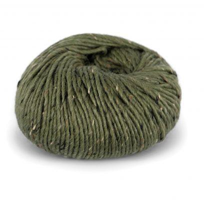 Alpakka Tweed - Oliven (110)