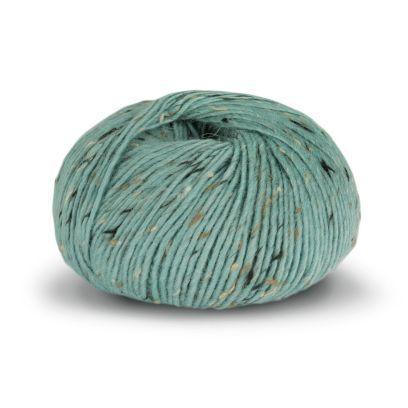 Alpakka Tweed Classic - Lys Sjøgrønn (124)