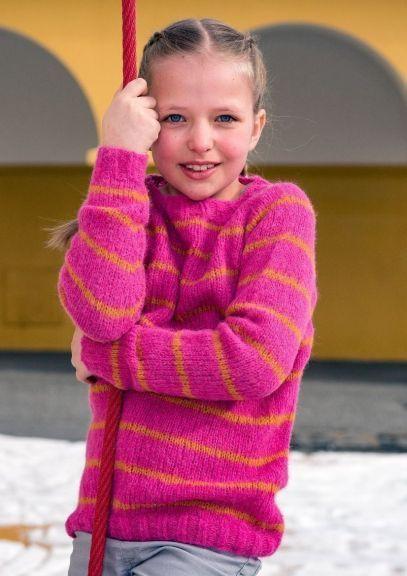 Saragenser - 2-14 år (Mørk rosa)