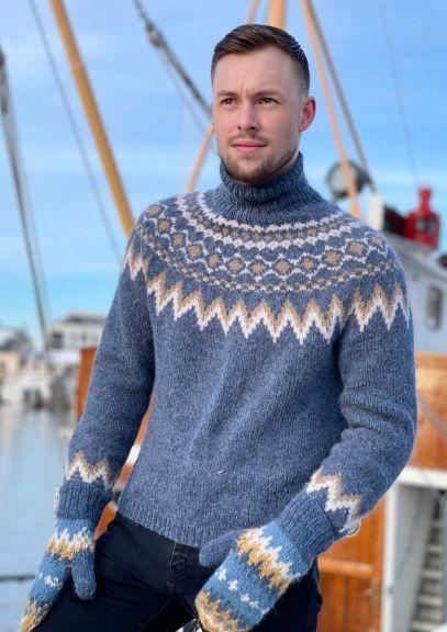 Byramp-genser (Denim)