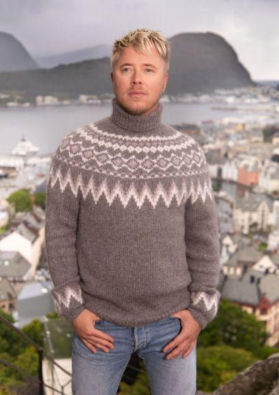 Byramp-genser (Grå melert)