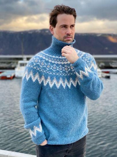 Byramp-genser (Jeansblå)