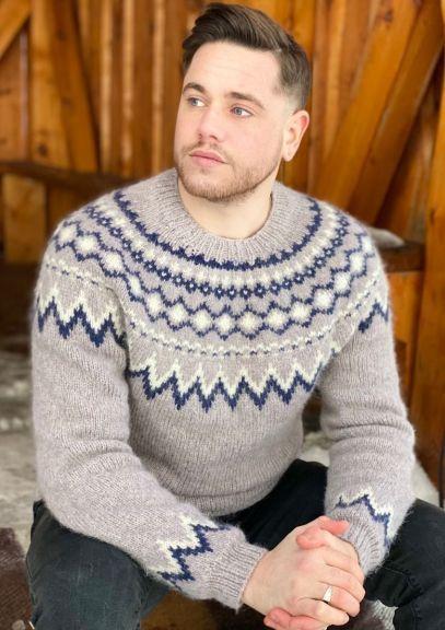 Byramp-genser (Lys gråbrun melert)