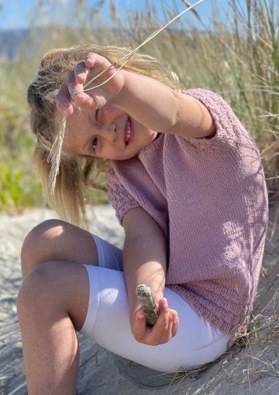 ByTopp til barn (Gammelrosa)