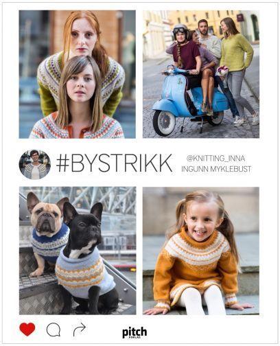 #BYSTRIKK SAMLING (Bok nr 1-4)