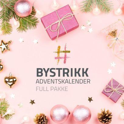 Bystrikks Adventskalender - Full pakke (Verdi kr 5000,-)