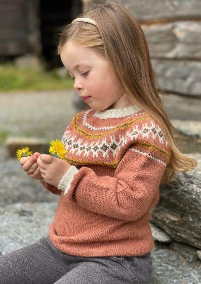 Ingeborggenser - 1-11år (Dus aprikos)