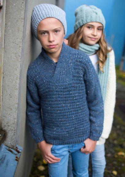 ISHAVSGENSER JUNIOR (8-14 år) - Blå