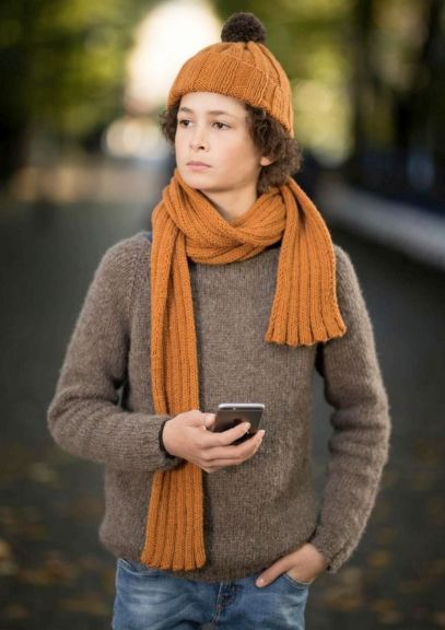 Mikagenser - 2-14 år (Gråbrun)