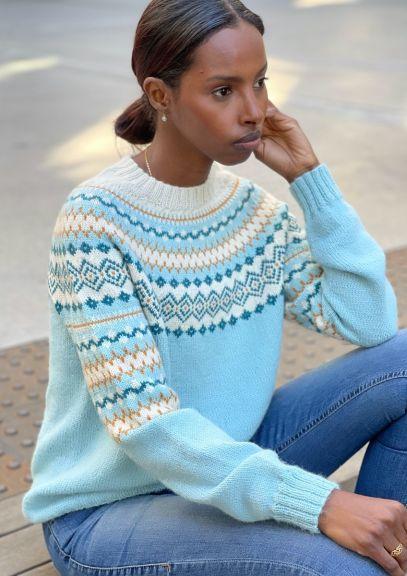 RetroFin-genser (Mintblå)