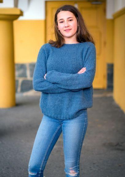 Saragenser - 2-14 år (Jeansblå)