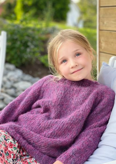 Saragenser - 2-14 år (Lilla melert)