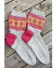 ByFin-sokker (Lys grå melert)